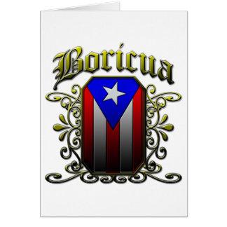 Boricua Greeting Card