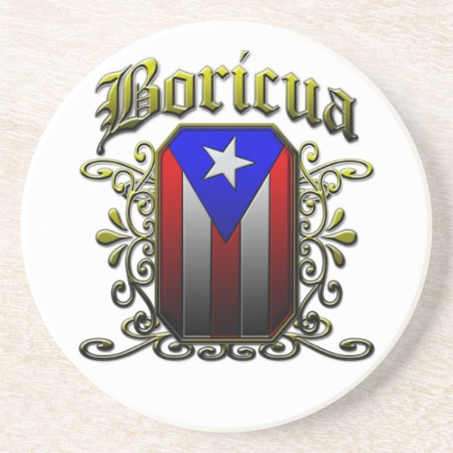 Boricua Beverage Coaster