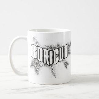boricua crack basic white mug