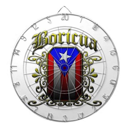 Boricua Dart Board