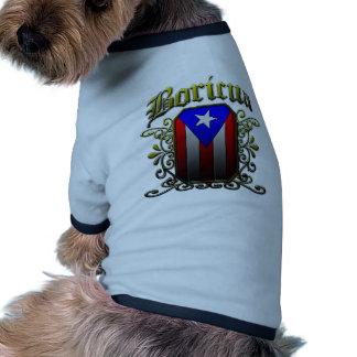Boricua Doggie Tee Shirt