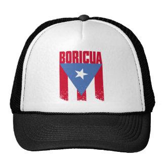Boricua Flag Mesh Hat