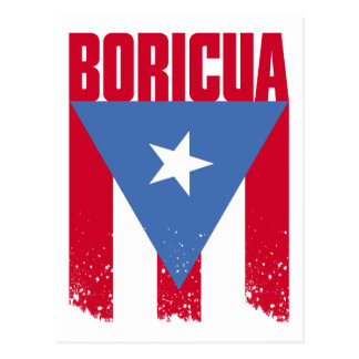 Boricua Flag Postcard