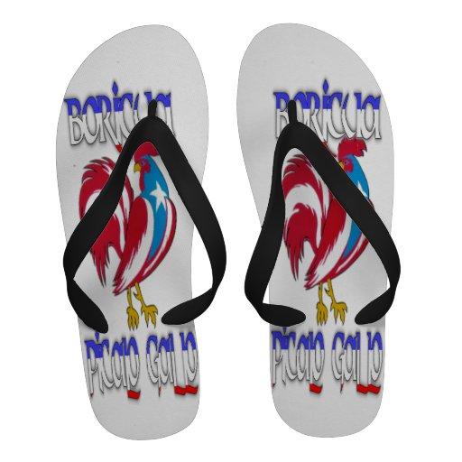 Boricua Flip-Flops