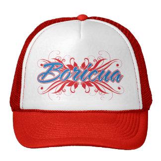 Boricua Floral Trucker Hat