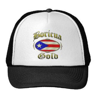 Boricua Gold Mesh Hat