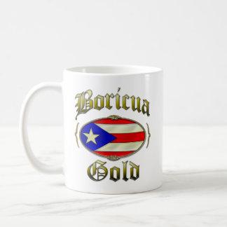Boricua Gold Coffee Mugs