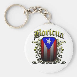 Boricua Key Chain