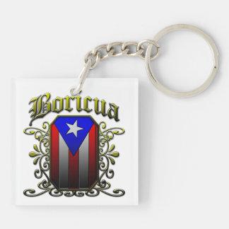 Boricua Acrylic Key Chain