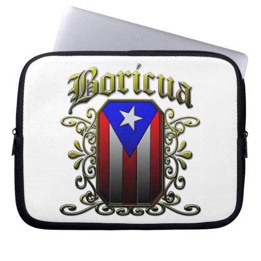 Boricua Laptop Computer Sleeves