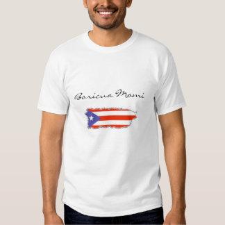 Boricua Mami Tee Shirts