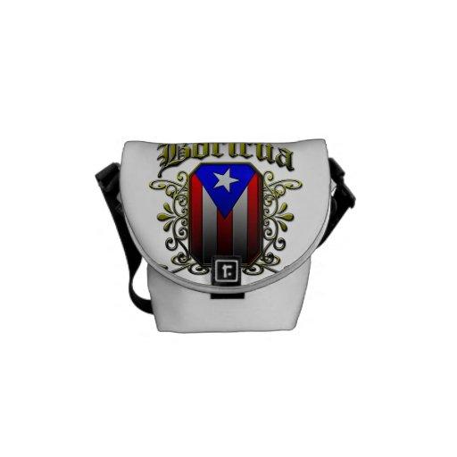Boricua Messenger Bag