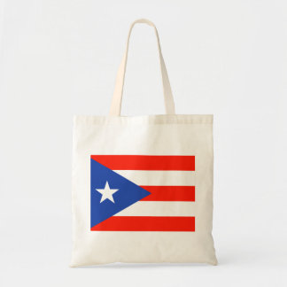 Boricua Puerto Rican Flag Amor Hector's fave Budget Tote Bag