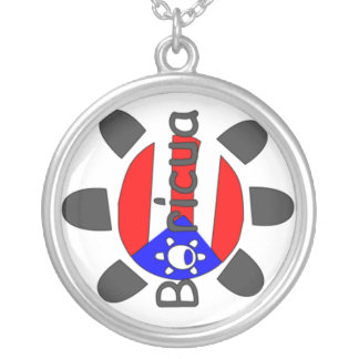Boricua Taino Sign Necklace