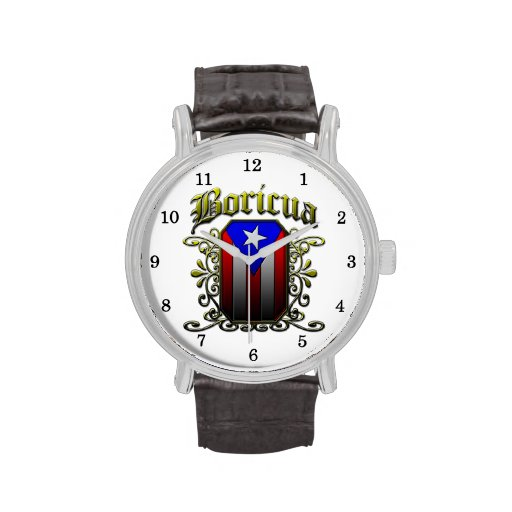 Boricua Wrist Watch