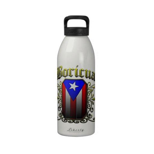 Boricua Drinking Bottle