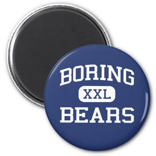 Boring Bears Middle School Boring Oregon Magnet