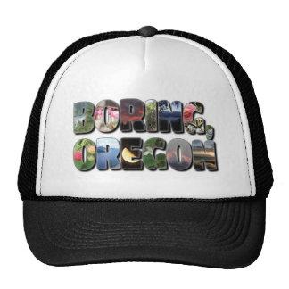 Boring Oregon Trucker Hat