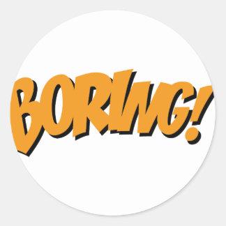 boring stickers