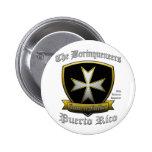 Borinqueneers 6 Cm Round Badge