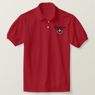Borinqueneers Polo Shirt (black embroidery)