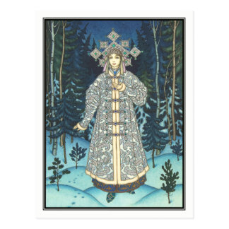 Boris Zvorykin - The Snow Maiden Postcard