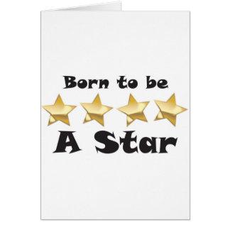 Born2BStar Card
