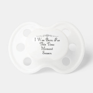 Born 5 pacifiers