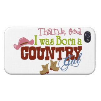 Born a Country girl iPhone 4 Cases