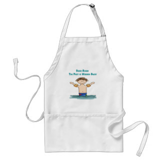 Born Again Boy in Water Adult Apron