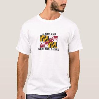 Born and Raised Maryland T-Shirt
