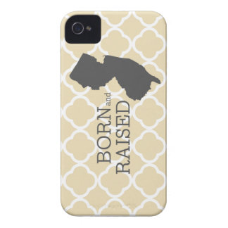 Born and Raised New Jersey Case-Mate iPhone 4 Case