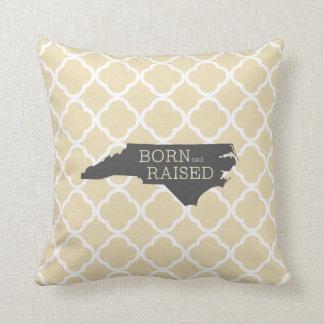 Born and Raised North Carolina Cushion