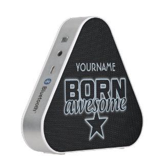 Born Awesome custom bluetooth speaker