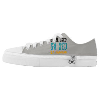 Born Bred Ga Ded Bahamian Low Top Sneakers