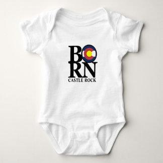 BORN  Castle Rock Colorado Baby One Piece Baby Bodysuit
