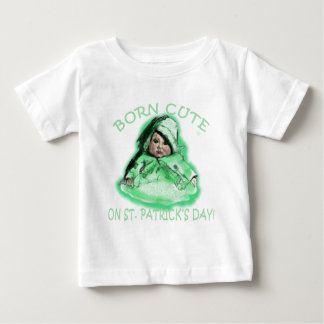 Born Cute on St Patricks Day Products Shirt
