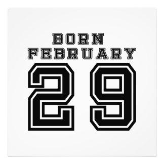 Born February 29 Photo Art