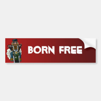 Born Free Bumper Sticker