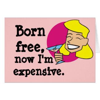 Born Free Card