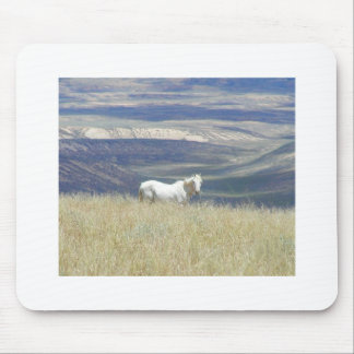 Born Free Wild Mustang Horse Mouse Mat