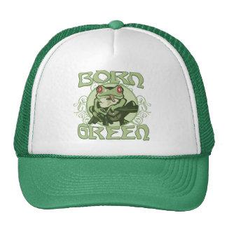 Born Green Enviro Frog by Mudge Studios Hat