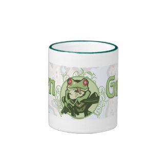 Born Green Enviro Frog by Mudge Studios Coffee Mug