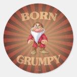 Born Grumpy Sticker