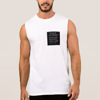 Born ignorant sleeveless shirt
