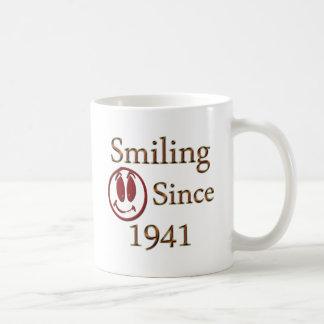 Born in 1941 coffee mug