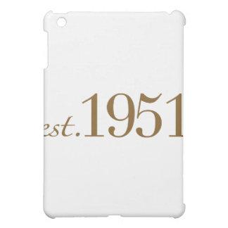 Born in 1951 (60th Birthday) iPad Mini Cover