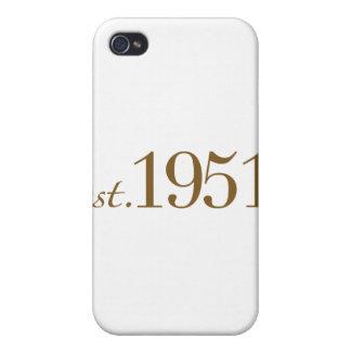Born in 1951 (60th Birthday) iPhone 4 Case