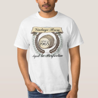 Born in 1965 Vintage Brew, 50th Birthday Gift T-Shirt