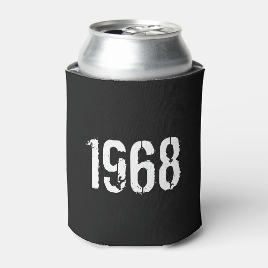 Born in 1968 50th Birthday Year Can Cooler